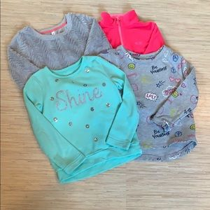4 Winter tops for a stylish lil' girl